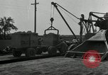 Image of Road construction United States USA, 1930, second 2 stock footage video 65675031956
