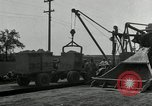 Image of Road construction United States USA, 1930, second 3 stock footage video 65675031956