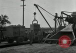 Image of Road construction United States USA, 1930, second 6 stock footage video 65675031956