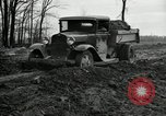 Image of road construction United States USA, 1930, second 8 stock footage video 65675031957