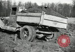 Image of road construction United States USA, 1930, second 40 stock footage video 65675031957