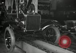 Image of Edsel Ford with Model T Fifteen Millionth car Highland Park Michigan USA, 1927, second 15 stock footage video 65675031963