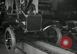 Image of Edsel Ford with Model T Fifteen Millionth car Highland Park Michigan USA, 1927, second 16 stock footage video 65675031963
