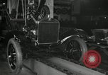 Image of Edsel Ford with Model T Fifteen Millionth car Highland Park Michigan USA, 1927, second 17 stock footage video 65675031963