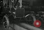 Image of Edsel Ford with Model T Fifteen Millionth car Highland Park Michigan USA, 1927, second 18 stock footage video 65675031963