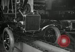 Image of Edsel Ford with Model T Fifteen Millionth car Highland Park Michigan USA, 1927, second 23 stock footage video 65675031963