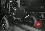 Image of Edsel Ford with Model T Fifteen Millionth car Highland Park Michigan USA, 1927, second 24 stock footage video 65675031963
