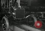 Image of Edsel Ford with Model T Fifteen Millionth car Highland Park Michigan USA, 1927, second 25 stock footage video 65675031963