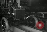 Image of Edsel Ford with Model T Fifteen Millionth car Highland Park Michigan USA, 1927, second 26 stock footage video 65675031963