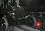 Image of Edsel Ford with Model T Fifteen Millionth car Highland Park Michigan USA, 1927, second 27 stock footage video 65675031963