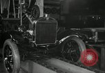 Image of Edsel Ford with Model T Fifteen Millionth car Highland Park Michigan USA, 1927, second 28 stock footage video 65675031963