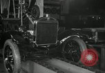 Image of Edsel Ford with Model T Fifteen Millionth car Highland Park Michigan USA, 1927, second 29 stock footage video 65675031963