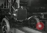 Image of Edsel Ford with Model T Fifteen Millionth car Highland Park Michigan USA, 1927, second 31 stock footage video 65675031963