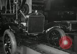 Image of Edsel Ford with Model T Fifteen Millionth car Highland Park Michigan USA, 1927, second 32 stock footage video 65675031963