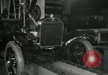 Image of Edsel Ford with Model T Fifteen Millionth car Highland Park Michigan USA, 1927, second 33 stock footage video 65675031963