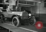 Image of Edsel Ford with Model T Fifteen Millionth car Highland Park Michigan USA, 1927, second 39 stock footage video 65675031963