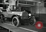 Image of Edsel Ford with Model T Fifteen Millionth car Highland Park Michigan USA, 1927, second 40 stock footage video 65675031963