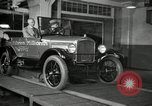 Image of Edsel Ford with Model T Fifteen Millionth car Highland Park Michigan USA, 1927, second 45 stock footage video 65675031963