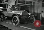 Image of Edsel Ford with Model T Fifteen Millionth car Highland Park Michigan USA, 1927, second 47 stock footage video 65675031963