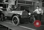 Image of Edsel Ford with Model T Fifteen Millionth car Highland Park Michigan USA, 1927, second 48 stock footage video 65675031963