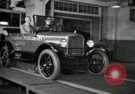 Image of Edsel Ford with Model T Fifteen Millionth car Highland Park Michigan USA, 1927, second 51 stock footage video 65675031963