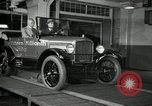 Image of Edsel Ford with Model T Fifteen Millionth car Highland Park Michigan USA, 1927, second 53 stock footage video 65675031963