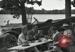 Image of family picnics United States USA, 1922, second 58 stock footage video 65675031972