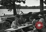 Image of family picnics United States USA, 1922, second 61 stock footage video 65675031972