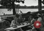 Image of family picnics United States USA, 1922, second 62 stock footage video 65675031972