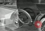 Image of instructions on how to drive Ford Model T car United States USA, 1922, second 30 stock footage video 65675031974