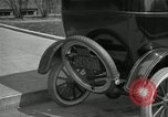 Image of instructions on how to drive Ford Model T car United States USA, 1922, second 32 stock footage video 65675031974