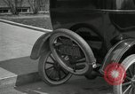 Image of instructions on how to drive Ford Model T car United States USA, 1922, second 33 stock footage video 65675031974