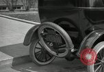 Image of instructions on how to drive Ford Model T car United States USA, 1922, second 35 stock footage video 65675031974