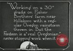 Image of Fordson model F tractor Oregon United States USA, 1920, second 42 stock footage video 65675031983