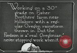 Image of Fordson model F tractor Oregon United States USA, 1920, second 45 stock footage video 65675031983