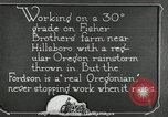 Image of Fordson model F tractor Oregon United States USA, 1920, second 47 stock footage video 65675031983