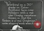 Image of Fordson model F tractor Oregon United States USA, 1920, second 50 stock footage video 65675031983
