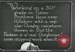 Image of Fordson model F tractor Oregon United States USA, 1920, second 51 stock footage video 65675031983