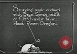 Image of Fordson model F tractor Oregon United States USA, 1920, second 5 stock footage video 65675031984