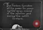 Image of Fordson model F tractor Oregon United States USA, 1920, second 28 stock footage video 65675031984