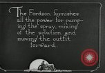 Image of Fordson model F tractor Oregon United States USA, 1920, second 31 stock footage video 65675031984