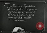 Image of Fordson model F tractor Oregon United States USA, 1920, second 34 stock footage video 65675031984