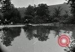 Image of Henry Ford camping party Maryland United States USA, 1921, second 30 stock footage video 65675031990