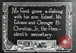 Image of Henry Ford Maryland United States USA, 1921, second 2 stock footage video 65675031992