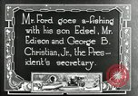 Image of Henry Ford Maryland United States USA, 1921, second 6 stock footage video 65675031992