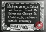 Image of Henry Ford Maryland United States USA, 1921, second 7 stock footage video 65675031992