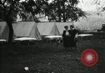 Image of group camping Maryland United States USA, 1921, second 7 stock footage video 65675031997