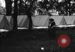Image of group camping Maryland United States USA, 1921, second 11 stock footage video 65675031997