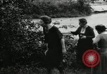 Image of group camping Maryland United States USA, 1921, second 58 stock footage video 65675031997