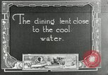 Image of group camping Maryland United States USA, 1921, second 1 stock footage video 65675031998